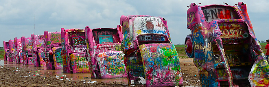 Cadillac Ranch, Amarilio, TX