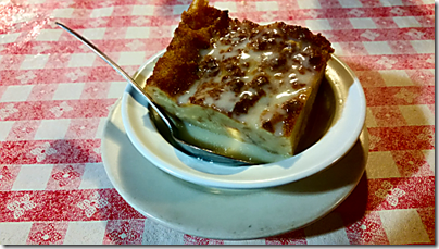 Pont Breaux Bread Pudding