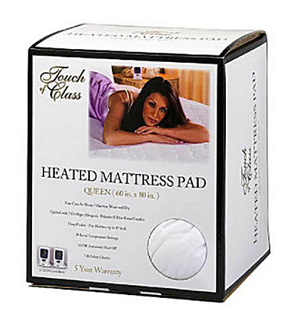 Dual Heated Mattress Pad ... heated mattress pad that we bought at Sam's Club in 2010, and it's