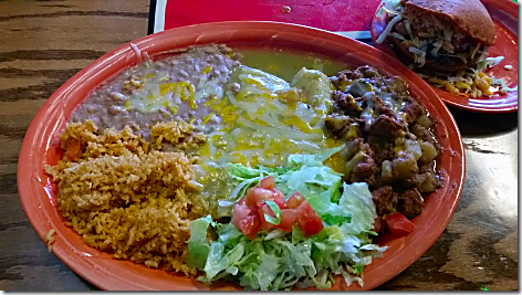 Cha Chi's Combo Plate