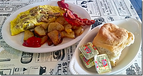 Horseshoe Cafe Omelet Breakfast
