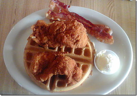 Schobels Chicken and Waffles