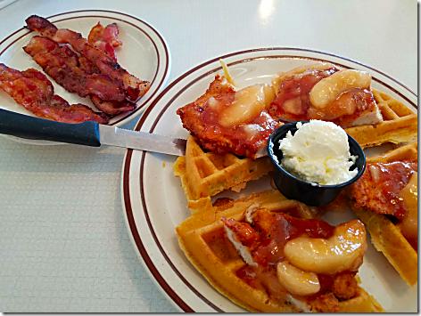 Blueberry Hill Chicken Waffle