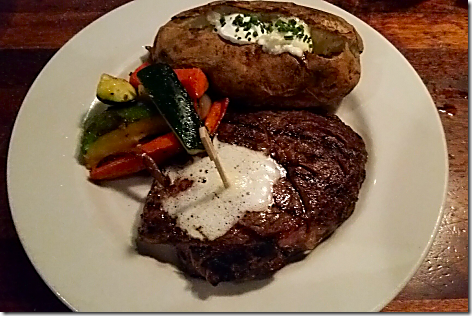 Claim Jumper RibeyeSteak