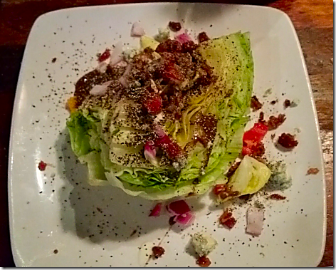 Claim Jumper Wedge Salad