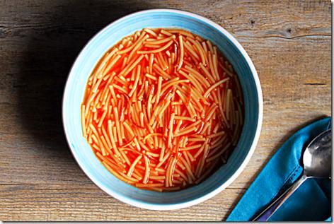 Lindo Fideo Soup