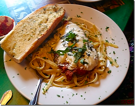 Oregano's Chicken Parm
