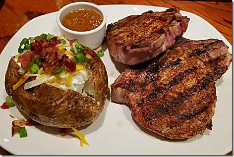 Outback Pork Chops