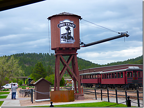 1880 Train Water Tower