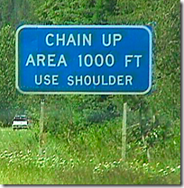 Chain Up Area