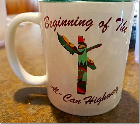 Hi-Lo Al-Can Hwy Mug