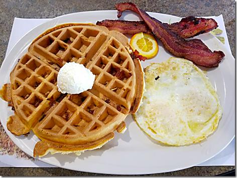 Hi-Lo Bacon Waffle