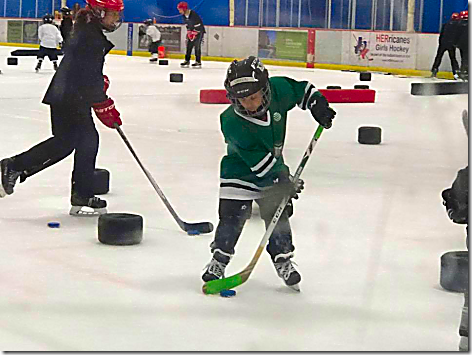 Landon Hockey on the Ice