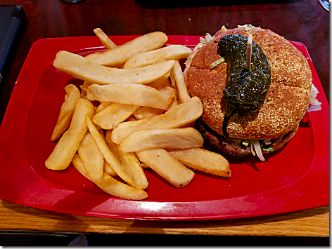 Red Robin Burnin' Love Burger
