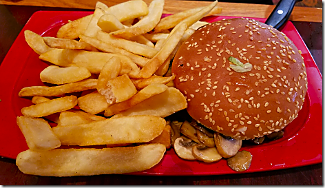Red Robin Shroom Burger