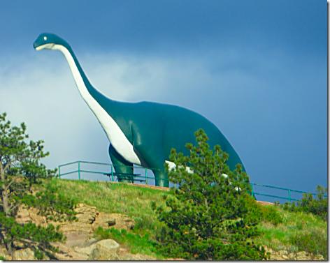 Safeway Dinosaur