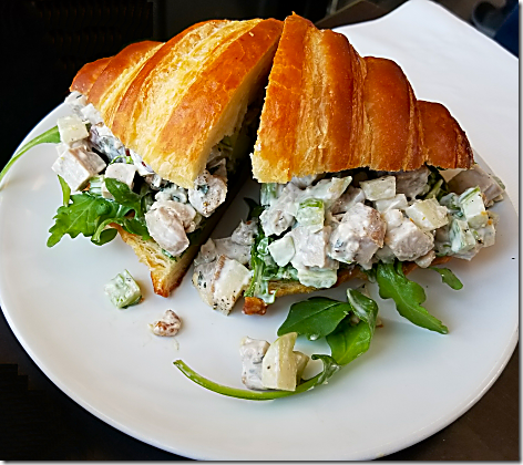 Sparrow Bakery Chicken Waldorf Sandwich