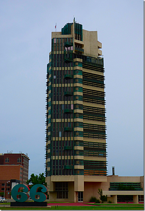 Frank Lloyd Wright Price Tower 1