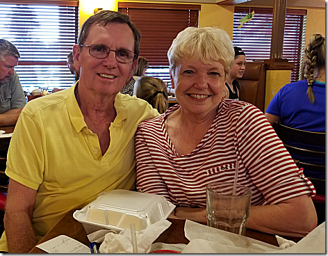 Jim and Peri Dean at Los Cabos