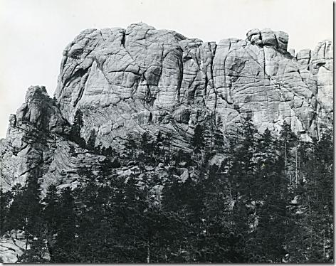 Mt Rushmore Before