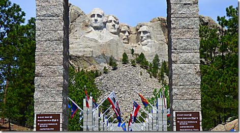 Mt Rushmore Framed