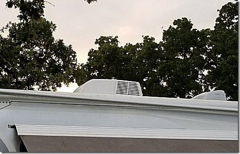Rig AC Cover Vents