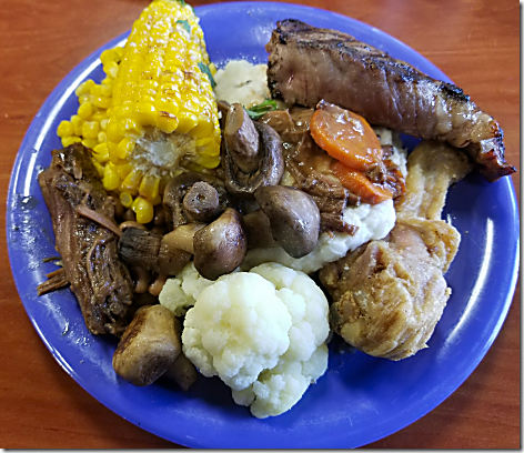 Golden Corral Plate