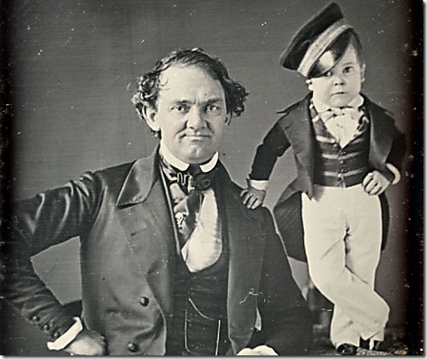 PT Barnum and Tom