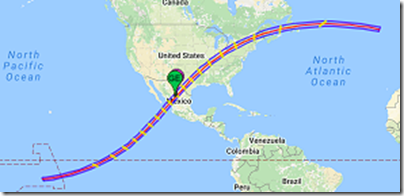 2024 Eclipse Path