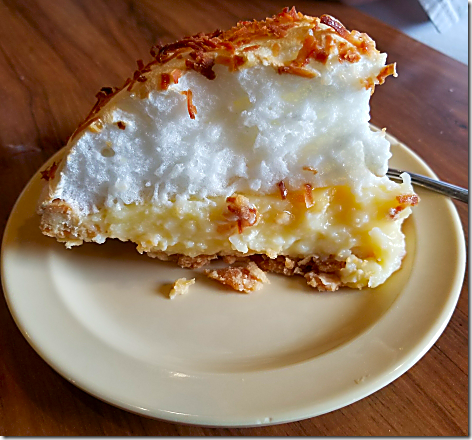 Big Bob Gibson's Coconut Pie