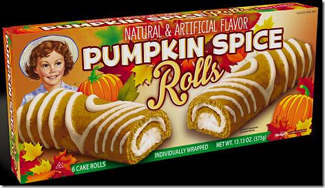 Little Debbie Pumpkin Spice Rolls