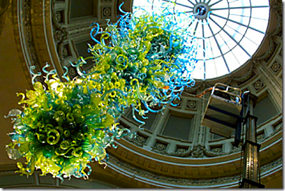3D Molten Glass Chihuly-Chandelier