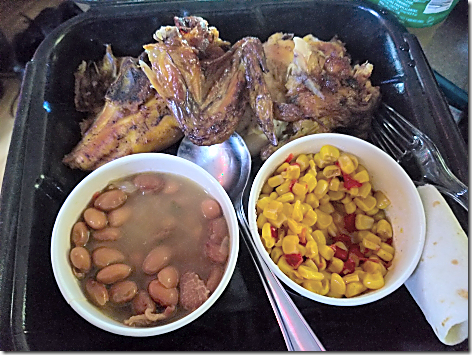 El Pollo Loco 4pc Meal