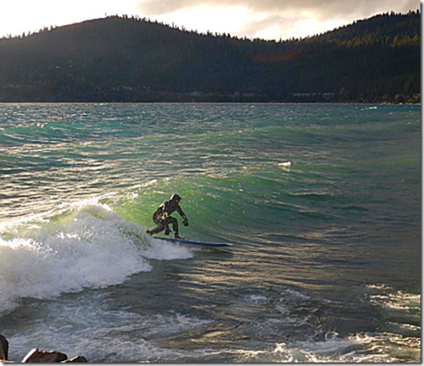 Lake Tahoe Surfing