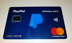 PayPal Card New