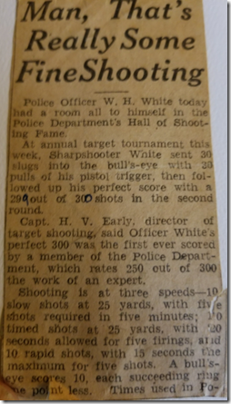 Father's Shooting Clipping