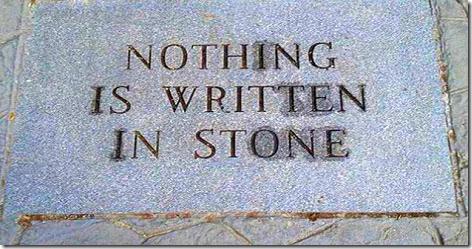 Nothing Is Written