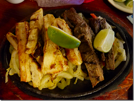 Barcenas Mixed Fajitas