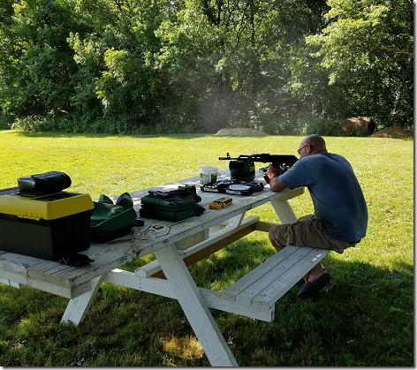 Curtis Shooting AK-47