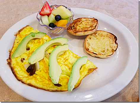 Egg and I Avocado Omelet