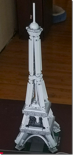 Landon Lego Effiel Tower