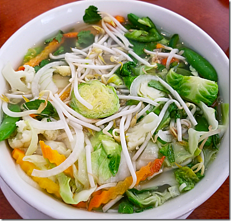 Pho 20 Chicken Pho with Veggies