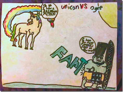 Landon Unicorn Fartwork