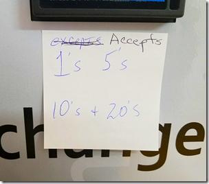 Accepts Bills