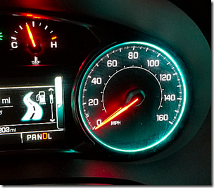Malibu Speedometer